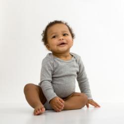 baby in onesie