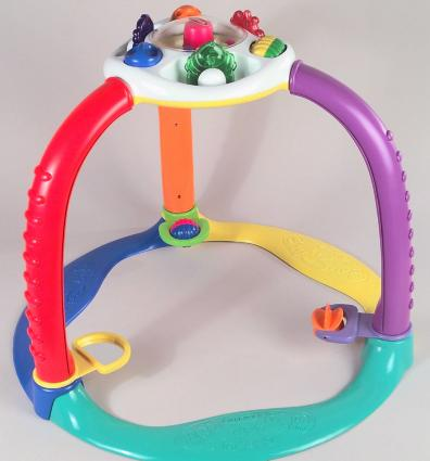 Playskool Magic Start Crawl 'n Stand recalled toy, Photo from U.S. CPSC