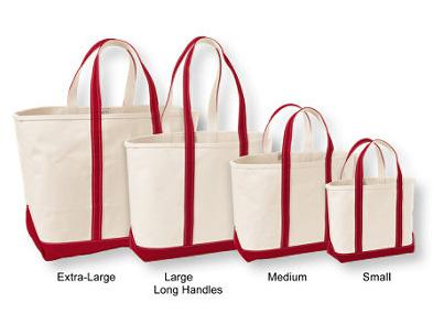 LL Bean Boat and Tote Bag, Open-Top