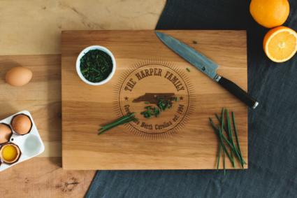 Personalized Cutting Board by AHeirloom on Etsy