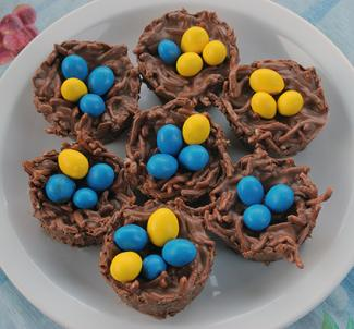 chocolate nest treats