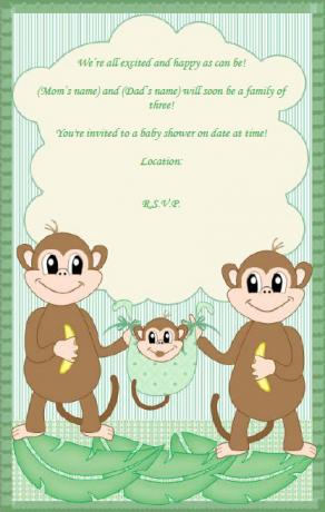 Family Baby Shower Invitation  Baby Shower Invitations Free Templates Online