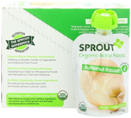 Sprout Starter Organic Baby Food from Amazon.com