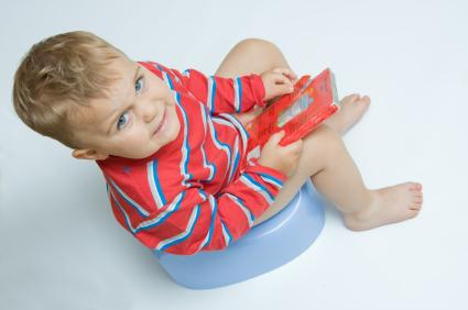 Child potty training