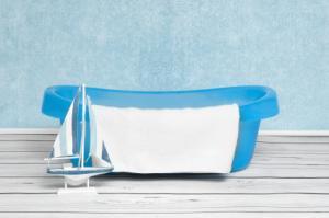 sailboat baby bathtub