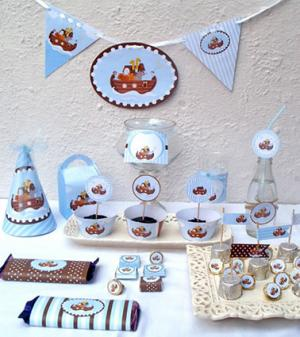 Noah's ark baby shower decorations