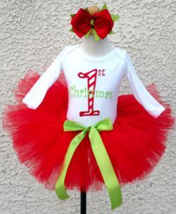 Christmas Classic Tutu Set Outfit
