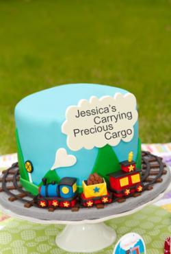 Precious Cargo Cake