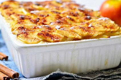 Casserole with potatoes