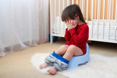 toddler crying potty