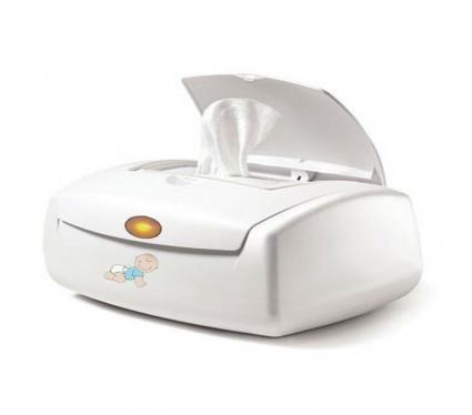 Baby wipe warmer