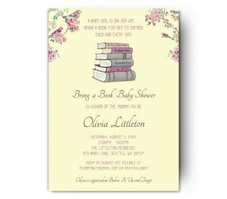 Storybook baby shower storybook invitation filmwisefo