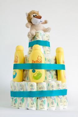 Baby Shower Diaper Cake