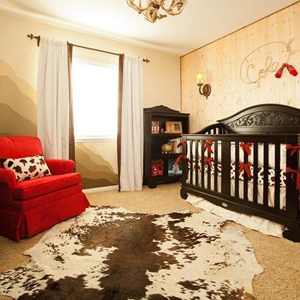 Western Silk crib set