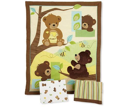 Honey Bear bedding collection