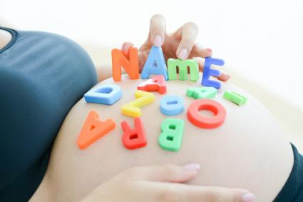 Choosing unique baby name