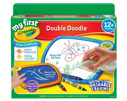 My First Crayola® Double Doodle Board
