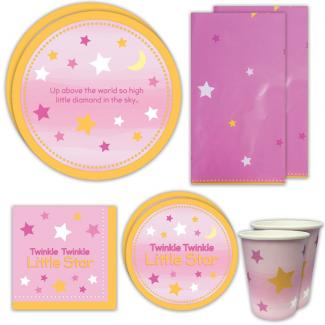 Twinkle Twinkle Girl Deluxe Party Packs (For 16 Guests)
