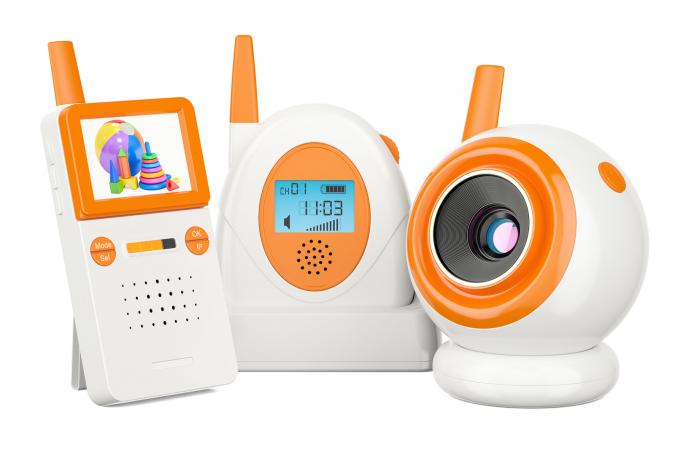Audio baby monitor and baby cam