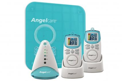 Angelcare Deluxe Movement and Sound Baby Monitor with Two Rechargeable Parent Units