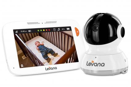 Levana® Willow™ 5-Inch Baby Video Monitor with 2 Cameras