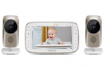 Motorola MBP845CONNECT-2 Video Baby Monitor with Wi-Fi