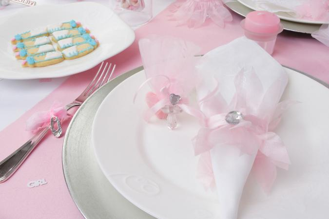 Baby Shower Napkin Fold