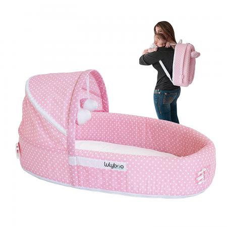 LulyBoo Baby Lounge To-Go Travel Bed