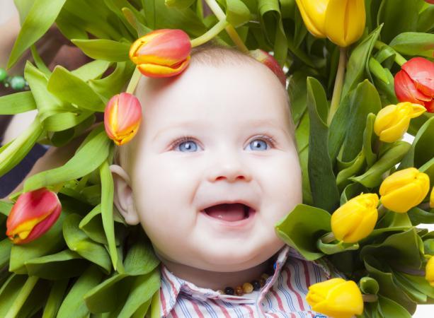 Flower baby