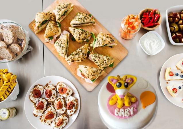 Brunch menu ideas for baby shower