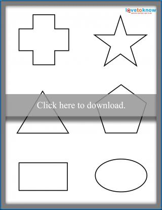 Free Shapes For Toddlers