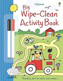 Usborn Big Wipe-Clean Activity Book