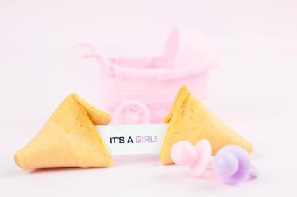 Fortune Cookie It's a Girl!