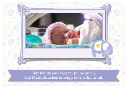 Premie birth announcements