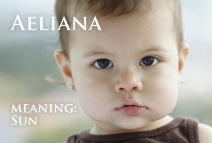 Hispanic baby girl