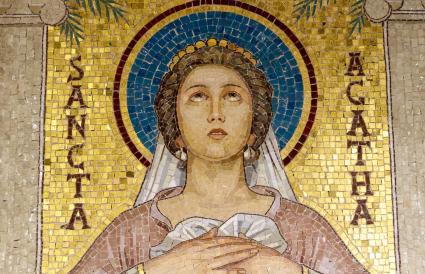 Icon of Sancta Agatha
