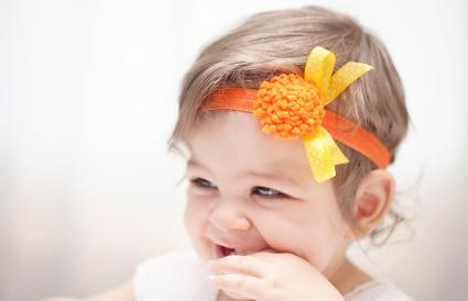 Cute smiling babygirl
