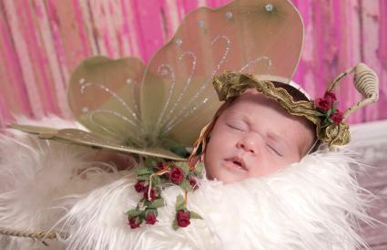Irish Fairy Princess newborn girl