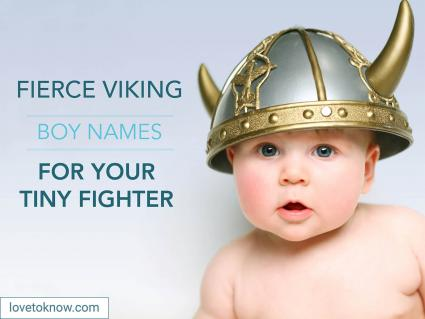 Viking boy names for your tiny fighter