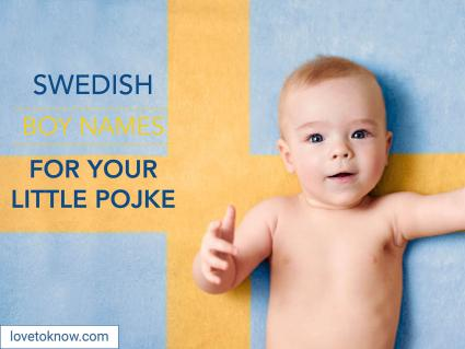 Swedish boy names for your little pojke