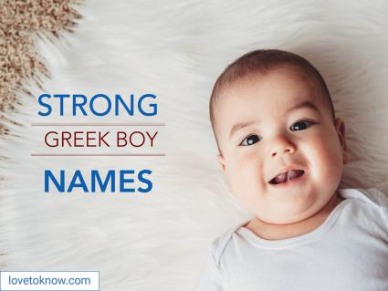 Strong Greek boy names