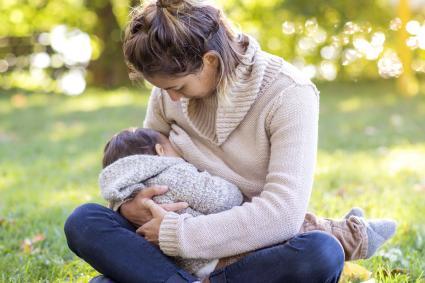 Breastfeeding at the Park