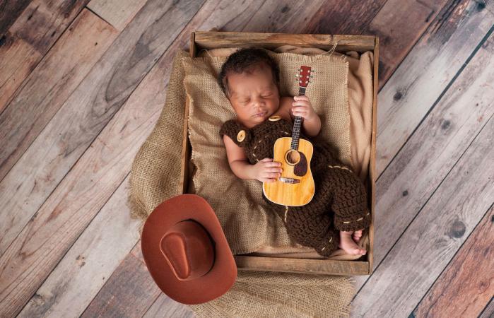 Newborn Baby Cowboy
