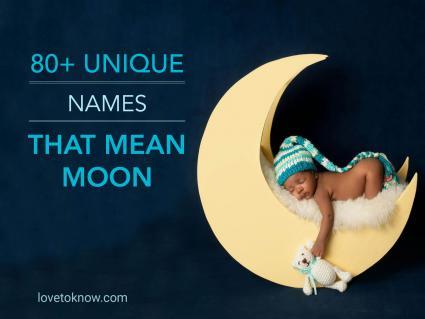 Unique Names That Mean Moon
