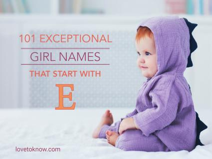Girl names that start with E