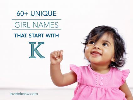 Unique Girl Names That Start With K