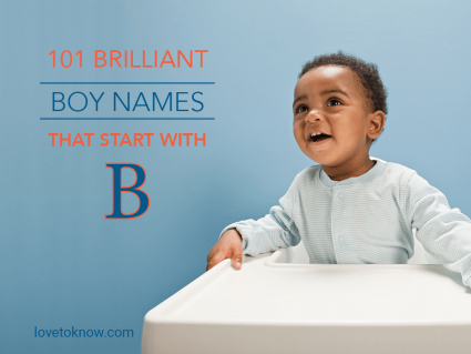 Brilliant boy names that start with B
