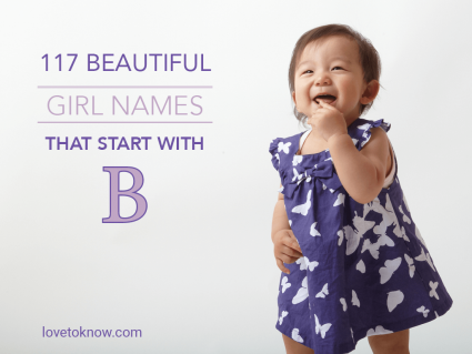 Beautiful Girl Names That Start With B