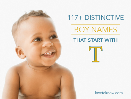 Distinctive Boy Names That Start With T