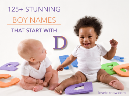Babies playing with letters